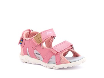 rosa barnsandal