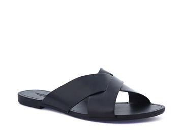 svart sandal