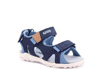 blå sandal