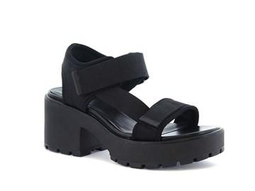 svart vagabond sandal