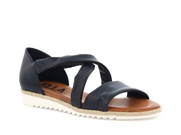 svart sandal ella