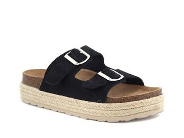 svart ella sandal